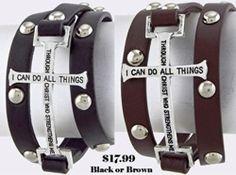 Bible Quote Wrap Bracelet -- Ella Joli Online Store