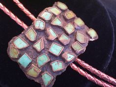 Vintage BELL Copper Turquoise Chunk Southwestern by TheCopperCat, $64.00