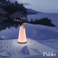 Pablo Design UMA Bluetooth Sound Lantern by Carmine Deganello & Pablo Pardo Maroon 5, Led Lantern, Monochrom, Surround Sound, Outdoor Lighting, Lighting Ideas, Outdoor Lamps, Outdoor Decor, Lamp Design