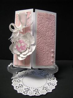 Dainty in Pink by rowenamcafee - Cards and Paper Crafts at Splitcoaststampers
