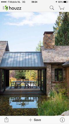 17 Beautiful ideas for rustic exterior design # exterior design # for Design Exterior, Rustic Exterior, Modern Farmhouse Exterior, Exterior Siding, Exterior Colors, Ranch Exterior, Building Exterior, Garage Design, Farmhouse Interior