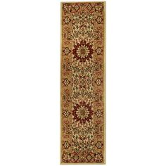 Pasha Collection Medallion Traditional Ivory Runner Rug (1'11 x 6'11) - Overstock™ Shopping - Great Deals on Runner Rugs