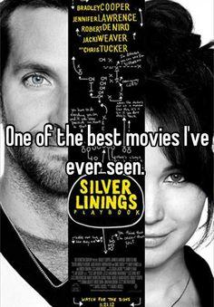 Silver Linings Playbook - so glad she won the Oscar.