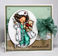 SugarPea Designs: Wishing you Well from Penny Black!  Charming card!!!