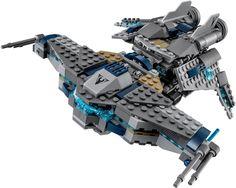 LEGO Star Wars StarScavenger  -  Ga op jacht naar ruimteschroot in de StarScavenger met modulair design, uitklapbaar bovengedeelte, mini scavenger ruimteschip met laadschop, 3 minifiguren en een vriendelijke Droid. Bekijk alle Lego Star Wars sets op https://www.olgo.nl/lego/star-wars.html