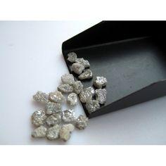 White Diamond Rough Diamond Raw Diamond Uncut by gemsforjewels, $23.10