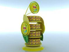 Lipton Product Display by kristine grimaldo, via Behance