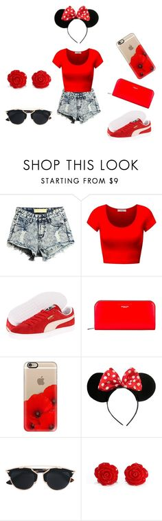 """CHILL OUT!!!"" by colemonique0 on Polyvore featuring Puma, Michael Kors, Casetify, Disney and Christian Dior"