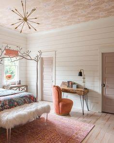 artwork young teen girl's bohemian bedroom – Top Trend – Decor – Life Style Cozy Bedroom, Bedroom Decor, Bedroom Artwork, Modern Bedroom, Bedroom Furniture, Girls Bedroom Wallpaper, Master Bedroom, Blue Bedroom, Decor Room