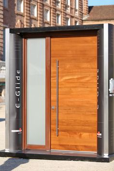 Security Door  E-Glide with Strong Sidelight  Glass