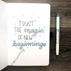 Quote page for a new bullet journal journal inspiration quotes First Page of Bullet Journal Bullet Journal Tracker, Bullet Journal Year, Bullet Journal Quote Page, Bullet Journal Spreads, Self Care Bullet Journal, Bullet Journal Writing, Bullet Journal Aesthetic, Bullet Journal Themes, Bullet Journal Inspo