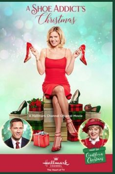 """Find video, photos and cast information for the Hallmark Channel original movie """"A Shoe Addict's Christmas"""" starring Candace Cameron Bure, Luke Macfarlane and Jean Smart. Films Hallmark, Hallmark Holiday Movies, Hallmark Weihnachtsfilme, Hallmark Channel, High School Musical, Jean Smart, Christmas Shows, Lifetime Movies, Romance Movies"""