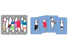 Sardines card game--moolka