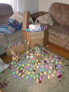 [The Battle of Helms Peep. I am dying right now.] Who has the time to do this rofl?!