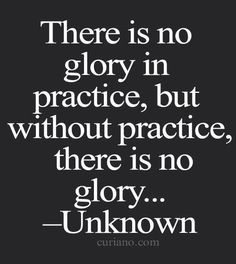 Inspirational and true volleyball quotes-- we've been practicing all season for today, for our moment of glory.