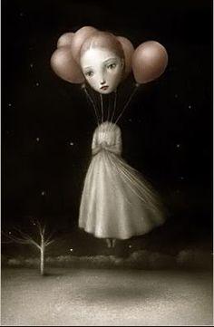 by Nicoletta Ceccoli [balloon]