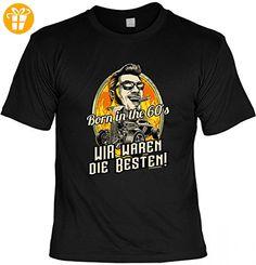 T-Shirt - Born in the 60s Wir waren die Besten! - Funshirt inkl. Urkunde im Geschenk Set zum Geburtstag mit Humor, Größe:S (*Partner-Link)