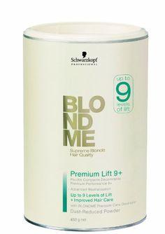 Schwarzkopf – Poudre Compacte Décolorante pour Cheveux Blonds – BlondMe Supreme Blonde Hair Quality – 450g: Eclaircit de jusqu'à 9 niveaux…
