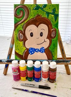 Painting Lessons, Painting For Kids, Drawing For Kids, Diy Painting, Art Lessons, Art For Kids, Art Projects For Adults, Toddler Art Projects, Unicorn Painting