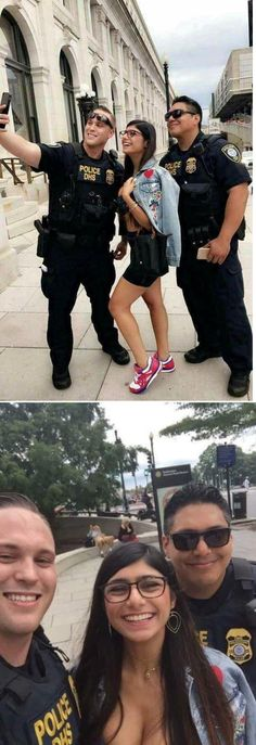 Police showing support for this actress career is part of Funny - More memes, funny videos and pics on Best Funny Pictures, Funny Images, Funny Jokes, Hilarious, Twisted Humor, Adult Humor, Funny Comics, Funny Cute, Dankest Memes