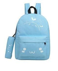 0cd633fac6 emoji bag school backpack youth kawaii printing backpack school bag cute  emoji backpack emotion for teenagers sac a dos ecole