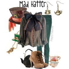 Mad Hatter Outfit.... OMG I am in LA-LA-LOVE with this look!!