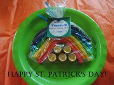 St Patricks Day Treat Bag