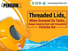 #Penguin is the inventor of Threaded Lids. It keeps dust, rodents, insects & other unwanted particles away.