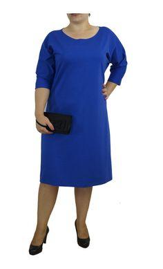 Sukienka Kolor Chabrowy  . w Henia u Heni na DaWanda.com