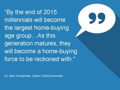 Quote from Dr. Stan Humphries, Zillow Chief Economist - Monthly Market Report January 2015 #LoveYourHome #RealEstate #Homes