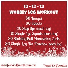 Wobbly Leg Workout