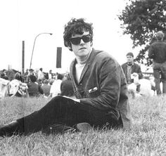 Donovan: A photo taken a full year before I would hear his unique vocalizing for the first time... he's influenced me in myriad untold ways.