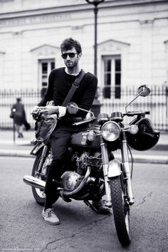 I want to be on this motorcycle