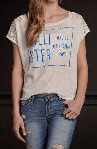 Camiseta Hollister Azul HO2230