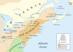 English do not colonize North America.