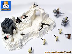 IMPERIAL ATTACK BASE LEGO - CUSTOM LEGO STAR WARS MODELS