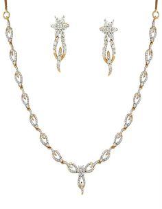 Sparkling Diamond Necklace Set | diamonds4you. See more:http://www.diamonds4you.com/item/21212185328.aspx. #diamonds #jewellery #necklace #diamondnecklace #diamondjewellery #onlinejewellery #diamonds4you