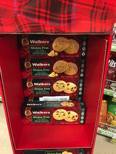 On one of my many shopping trips over the past week, I ran across a display of gluten-free cookies that I hadn't seen before. Walker's has been baking shortbread for over 100 years now, but just re...