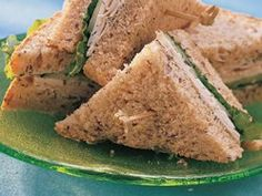 Turkey Cucumber Dill Sandwiches Instead of mayo I think I'll try cream cheese
