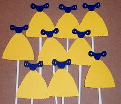 Snow White Cupcake Toppers Disney Princess Party Decorations