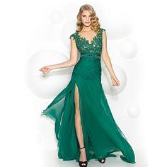 Risultati immagini per abito cerimonia lungo pronovias Moda Verde 652f417bd3e