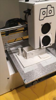 Onze 3D printer maakt de laatste dagen overuren