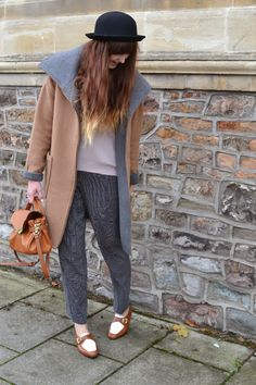 Love camel and gray. Great coat.
