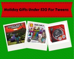2013 Holiday Gift Guide: Top Gifts Under $20 for Tweens Holiday Gift Guide, Holiday Gifts, Promote Your Business, Top Gifts, Business Website, Tween, Web Design, Kids, Xmas Gifts