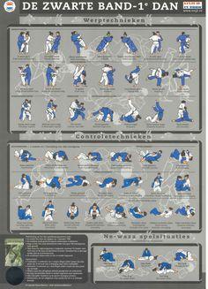 Zwarte Band-Judotechnieken   Paul Thomas