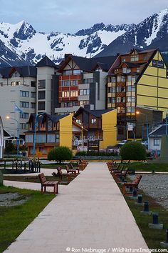 Ushuaia, Argentina: The world's southernmost city.