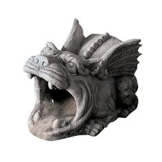 Roland the Gargoyle Gutter Guardian Downspout Statue Roof Drain, Drain Pipes, Labyrinth Door Knockers, Sculpture Art, Sculptures, Gothic Gargoyles, Scaly Skin, Quirky Decor, Protecting Your Home