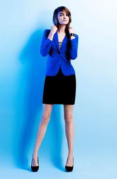 Blazer azul klein, azul cobalto, azulino, azul eléctrico. Read more at http://www.divinaejecutiva.com/2014/06/divitips-30-formas-de-usar-un-saco-azul.html#Mb5kLiFamyODaM37.99