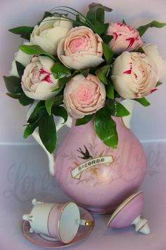 bouquet  of peonies sugar