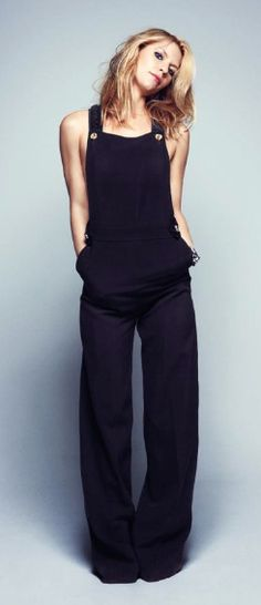 black jumpsuit- Claire Danes.    Im not sure if I love HER or the jumpsuit more.